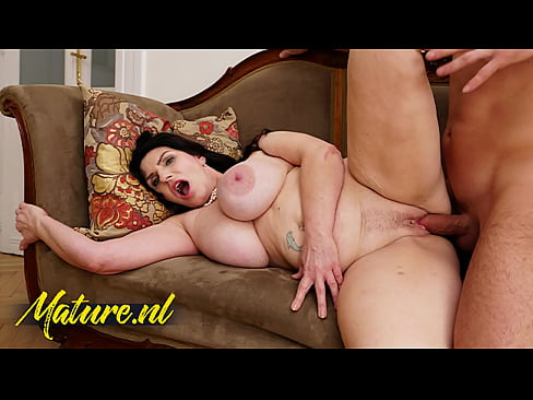 MatureNL - Busty MILF Josephine James Squirts All Over The Kitchen Counter & Gets Creampied