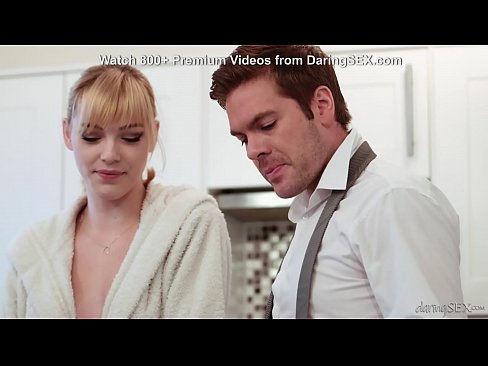Lonely housewife ass licking and fucked when husband is away