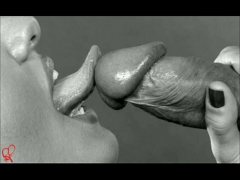 Erotic black white photography oral sex