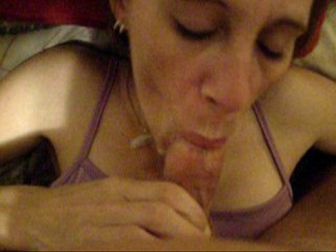 Jackie James swallows a lot of cum