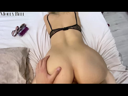 Sexy Girl Rides Cock and Moans When I Fuck her Doggystyle