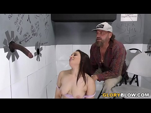 Gabriella Paltrova Tries Anal With Black Cock at Gloryhole