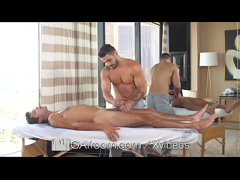 GayRoom Five Star Massage Fuck With Horny Hunks