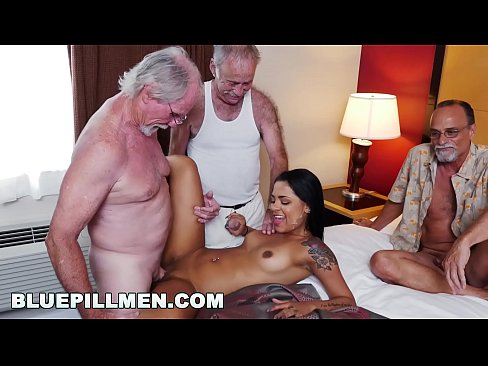 BLUE PILL MEN – Three Old Men And A Latin Lady Named Nikki Kay