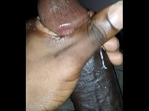 Big Black Dick Rubbing