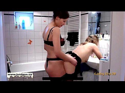 Lesbian Strapon Action