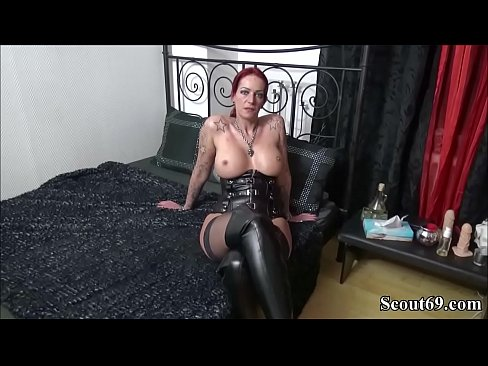 German Amateur Teen With Redhead And Big Tits In Threesome