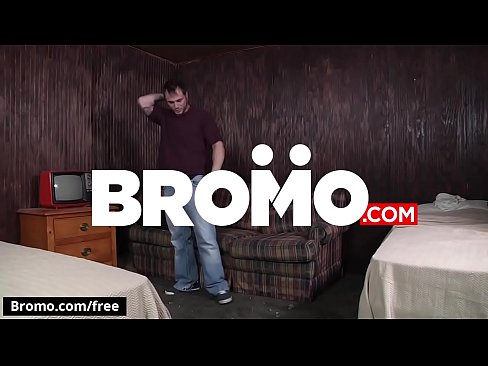 Jared Summers with Jeremy Adams at Bareback Motel Part 2 Scene 1 - Trailer preview - Bromo