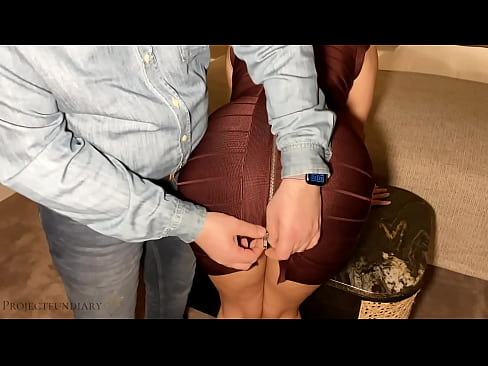 meeting a luxury escort girl in sexy figure-hugging dress for fucking in a hotel, projectfundiary