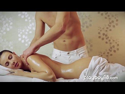 White panties spanking