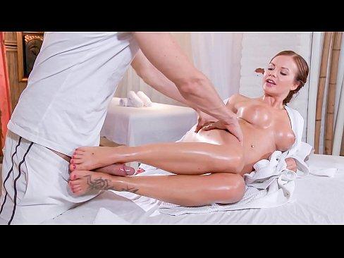 RELAXXXED - Beautiful European babe Bella Baby enjoys massage fantasy