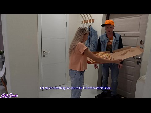 Pizza Delivery For a Horny Bitch | Letty Black