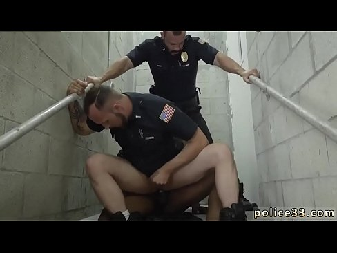 Gay cops suck boys cocks and police officer sex Fucking the white