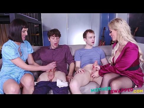 Sacred MILF Moms Decide To Fuck Eachother's Sons- Casca Akashova, Jane Dova