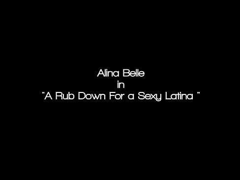 Sexy Latina Alina Belle Gets Deep Tissue Sexual Massage