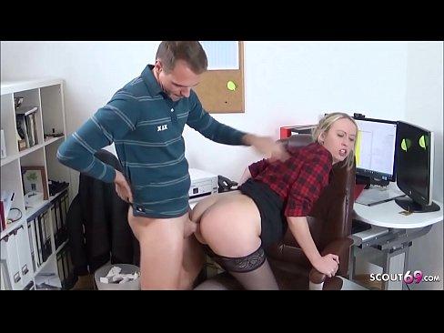 Sekretärin Gets Gefickt Arbeit