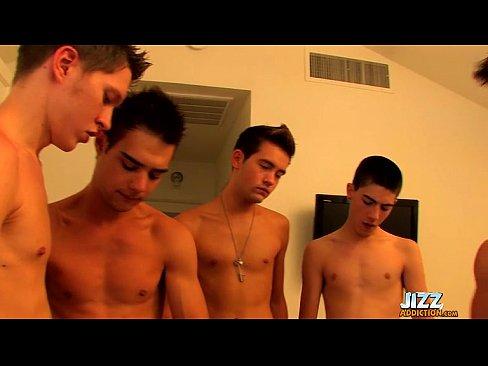 Gay Orgy Bukkake Heaven