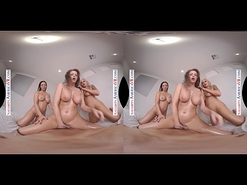 Naughty America - Emily Addison, Nina Elle, & Rachel Starr are all oiled up