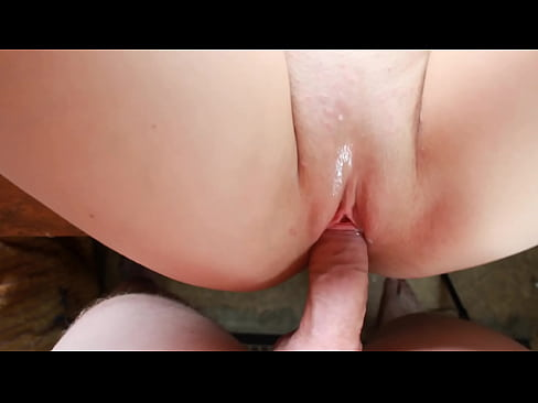 She allowed only to move the dick in the pussy, but could not resist and stuck