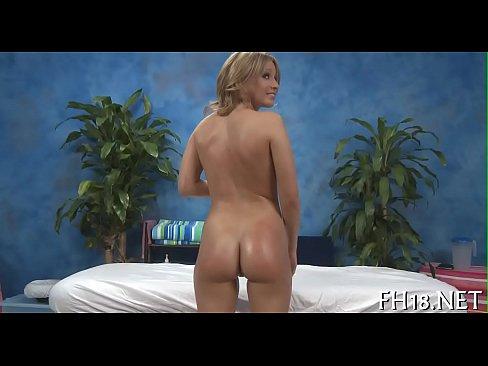 Massage sex cheerful ending