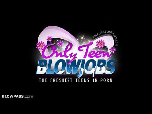 BlowPass Curvy Teen Britt James will BLOW 2 Borrow Car!