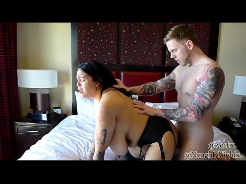 Curvy Xoe Nova Gets Fucked by HUNG Steve Rickz - Rough Doggystyle Sex!!!