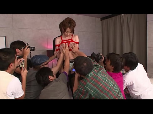 Japanese cutie gets a nuru massage with different vibrators before hard fucking by several men, full uncensored JAV movie
