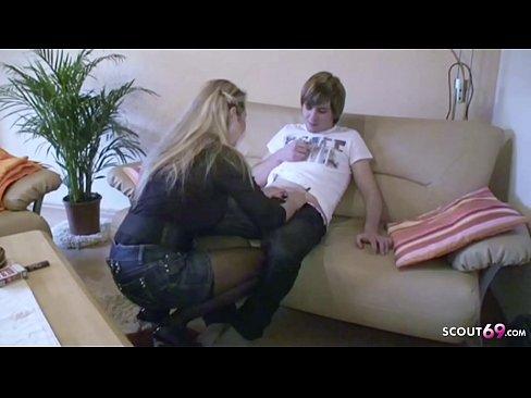 Blonde teens ficken