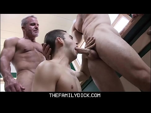 Grandpa Dale Savage And Stepdad Take Turns Fucking Twink Stepson In Family Kitchen