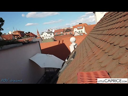 PUBLIC SEX ON THE ROOF FROM BRNO - littlecaprice.com