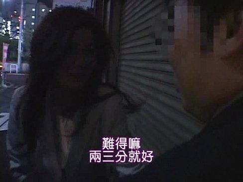 美女在街上搭訕男人,公廁裡幹砲!(中文字幕)