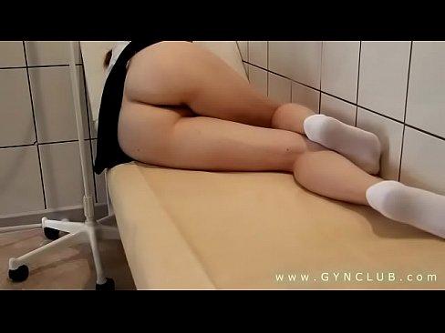 Enema in gyno room