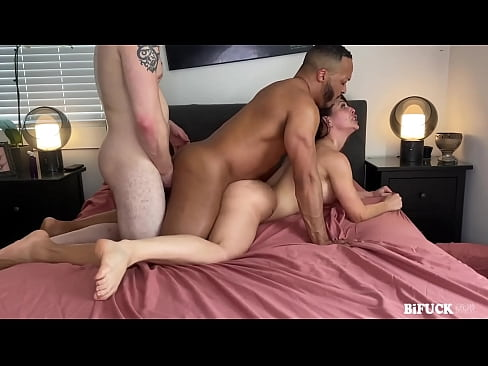 First MMF Bisexual Threesome for Cherie Deville!