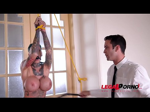Tattooed DP slut Calisi Ink gets the Anal Fuck she's been dreaming of. GP076