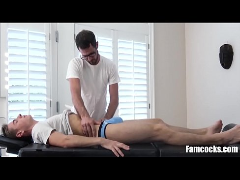 Daddy Takes Care Of Young Son's Cock