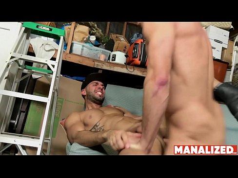 MANALIZED Hunk Manuel Skye Fucks Inked Latino And Cums Hard