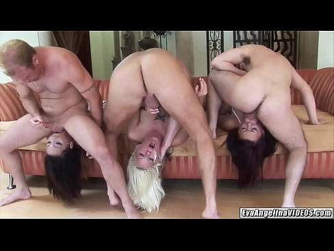 Eva Angelina blowbang deepthroat sluts Tricia Oaks and Keeani Lei