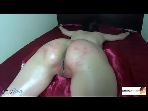 I WAS SPANKED ON MY THICK ASS AND PUSSY, AND THEN FUCKED AND CUM INSIDE