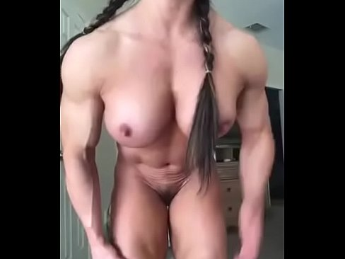 Arsch Anbetung - Muskulöse Frau