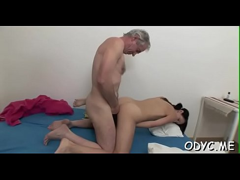Stunning old and youthful fucking with sexy babe getting it hard's Thumb