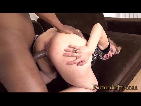 Kumalott - GrandMa's First Time For Huge Black Cock