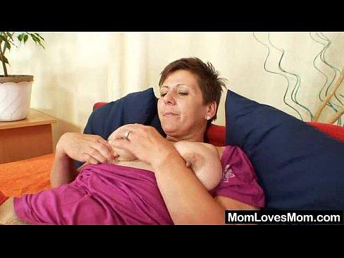 Step Mom Big Tits Blonde