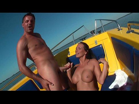Mandy Bright auf Boot gefickt - Mandy Bright - HD - german