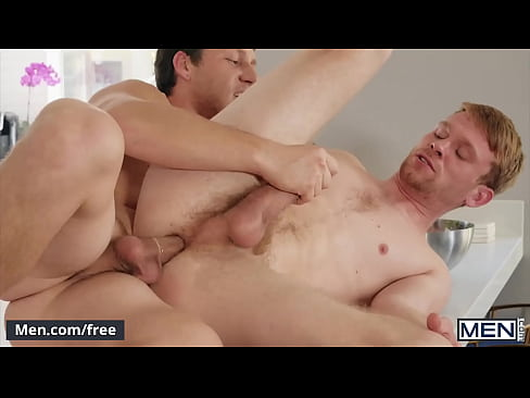 Chef (Paul Canons) Favorite Position Is Spoon He Strokes (Calhoun Sawyers) Cock As He Fucks Him - Men