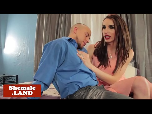 Tall tranny barebacked after receiving bj