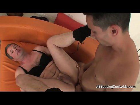 Black dildo fucks sissyboy seems me, remarkable