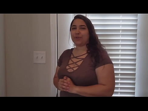 Slutty Wife Gives Jerk Off Instructions to Neighbor When Wife is Away