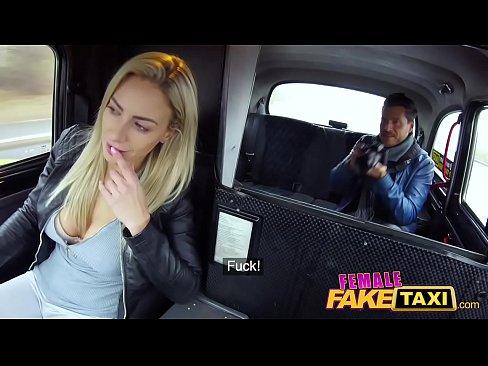 Hot Blonde Big Tits Fake Taxi