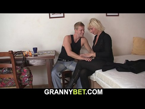 Old Mature Blonde Sucks And Rides Neighbour S Cock Xvideos Com