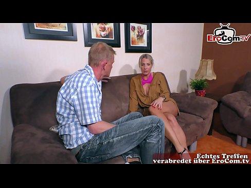deutsche blonde milf amateur freundin macht porno mit ihrem freund
